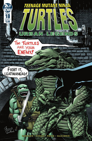 Teenage Mutant Ninja Turtles: Urban Legends #18 (Fosco Cover)