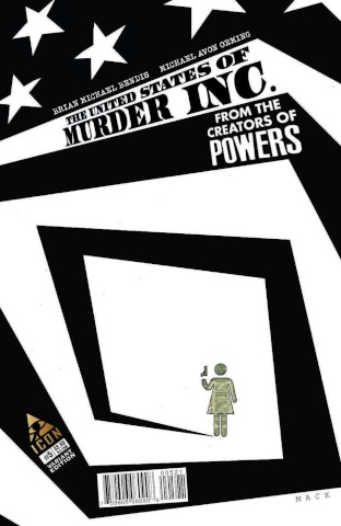 The United States of Murder, Inc. #5 (Mack Cover)