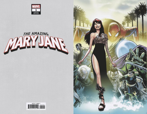 The Amazing Mary Jane #1 (Ramos Virgin Cover)