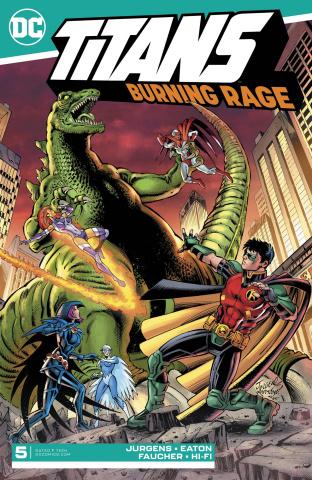 Titans: Burning Rage #5