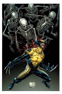 Death of Wolverine #1 (Quesada Cover)