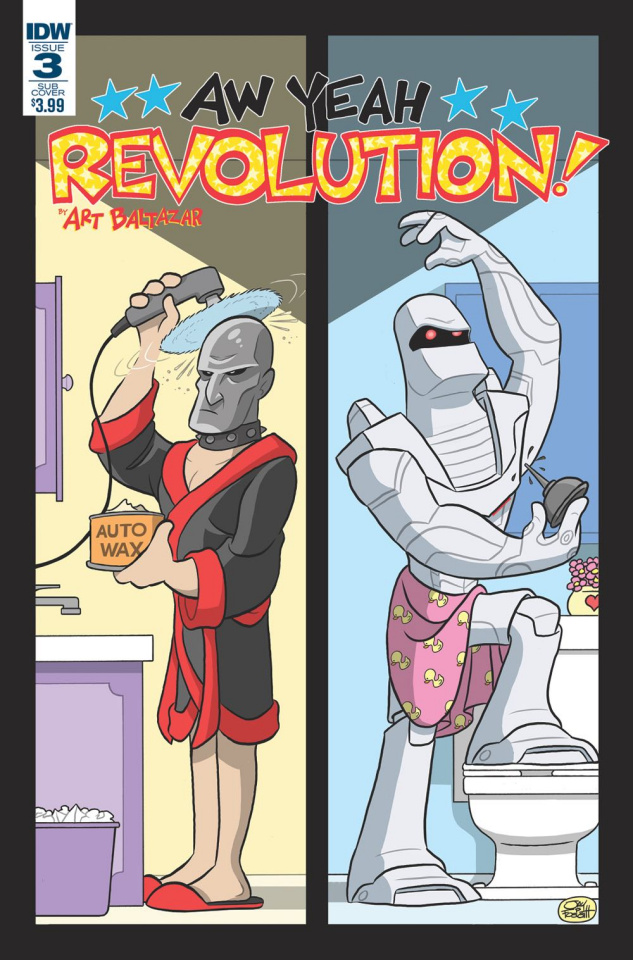 Revolution: Aw Yeah! #3 (Subscription Cover)