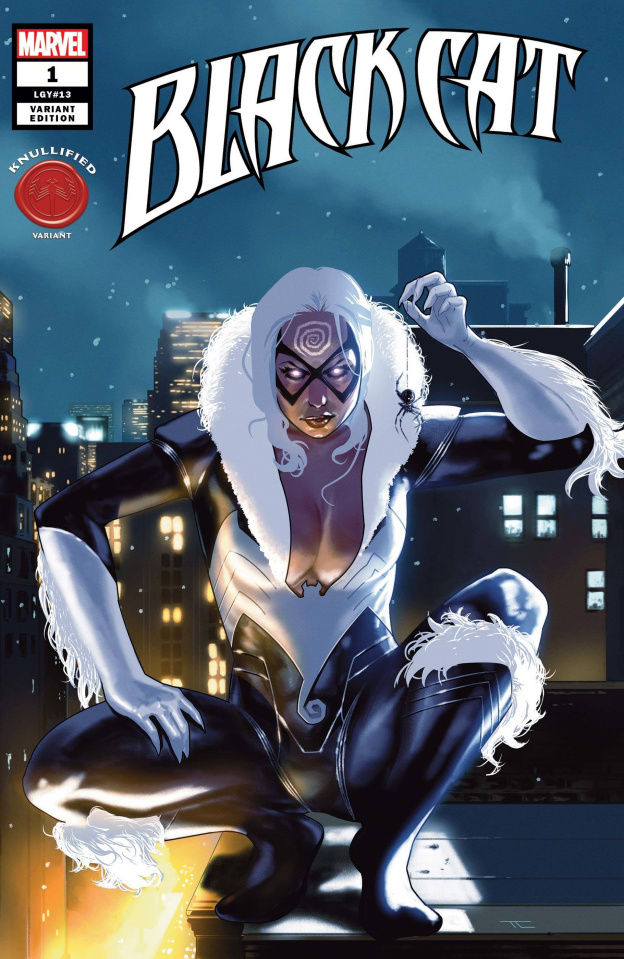 Black Cat #1 (Clarke Knullified Cover)