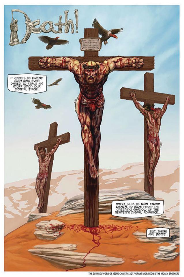 The Savage Sword of Jesus Christ