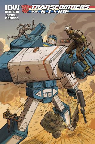 Transformers vs. G.I. Joe #4 (Subscription Cover)