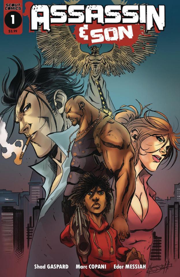 Assassin & Son #1 (Messiah 10 Copy Cover)