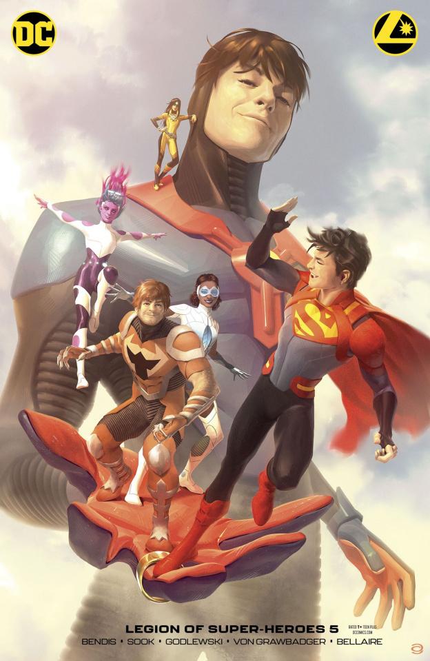 The Legion of Super Heroes #5 (Card Stock Alex Garner Cover)