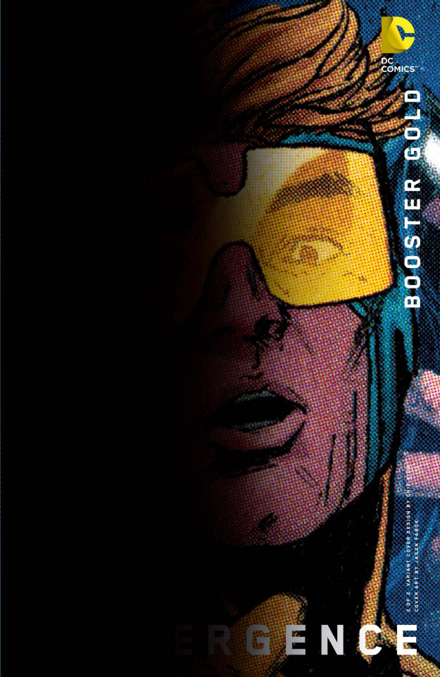 Convergence: Booster Gold #2 (Chip Kidd Cover)