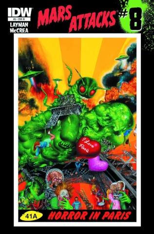 Mars Attacks #8 (10 Copy Cover)