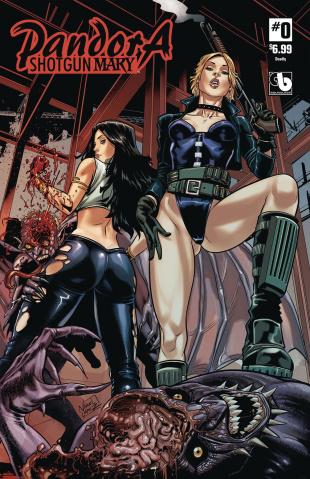 Pandora: Shotgun Mary #0 (Deadly Cover)