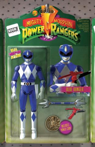 Mighty Morphin' Power Rangers #6 (Unlock Action Figure Cover)