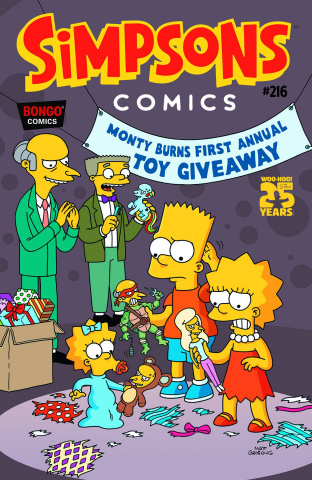 Simpsons Comics #216