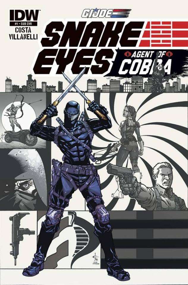 G.I. Joe: Snake Eyes - Agent of Cobra #1 (Subscription Cover)