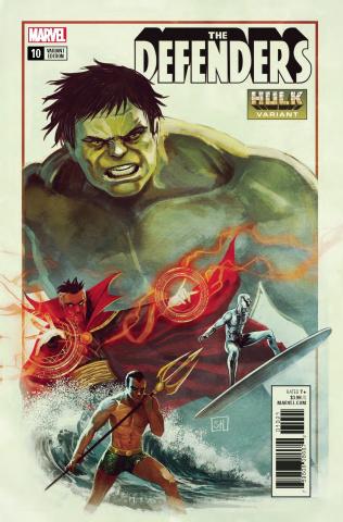 The Defenders #10 (Hulk Cover)