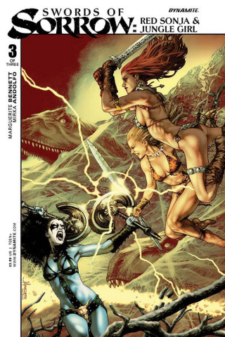 Swords of Sorrow: Red Sonja & Jungle Girl #3 (Anacleto Cover)