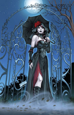 Grimm Fairy Tales: Grimm Tales of Terror #10 (Luis Cover)