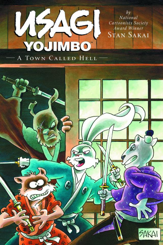Usagi Yojimbo Vol. 27: A Town Called Hell