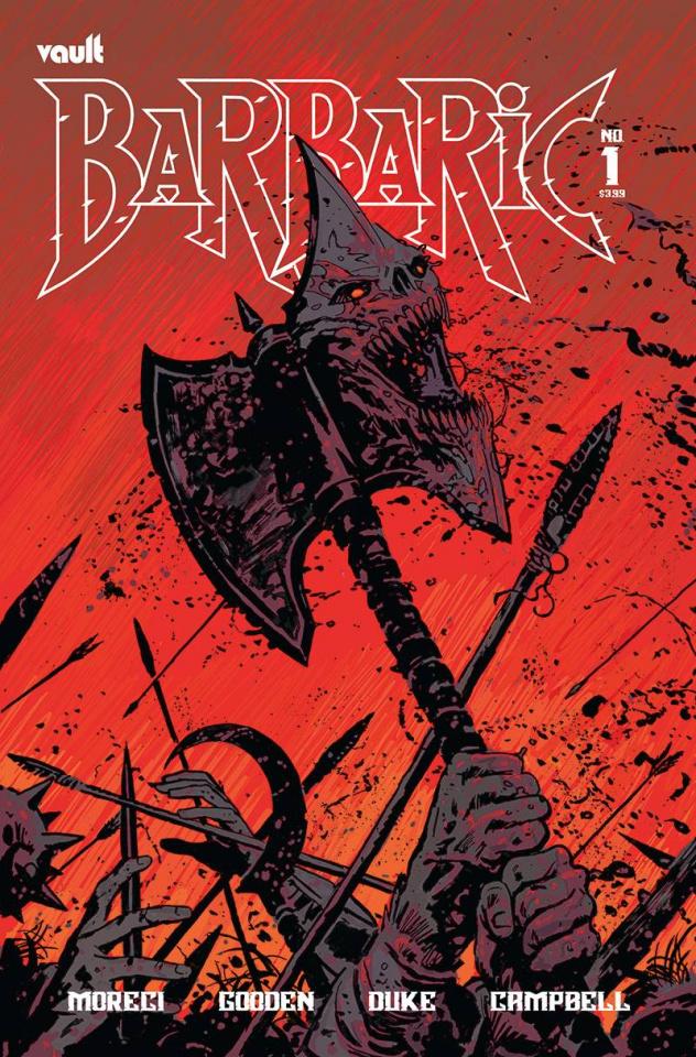 Barbaric #1 (Hixson Cover)