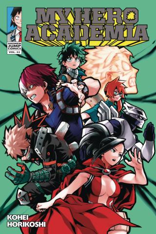 My Hero Academia Vol. 22