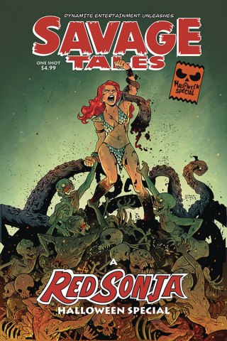 Savage Tales Halloween Special #0 (Durso Cover)