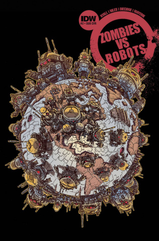 Zombies vs. Robots #2 (Subscription Cover)