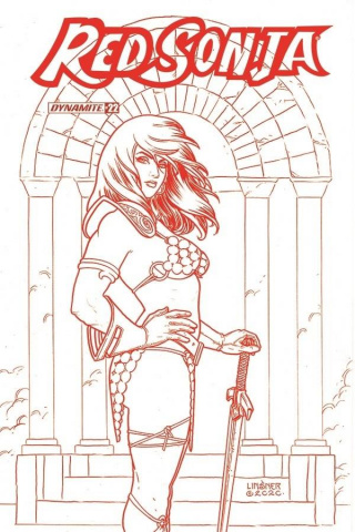 Red Sonja #22 (25 Copy Linsner Tint Cover)