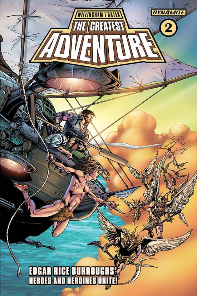 The Greatest Adventure #2 (Castro Cover)