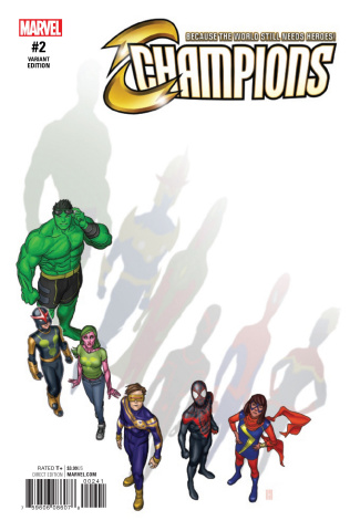 Champions #2 (Choi Cover)