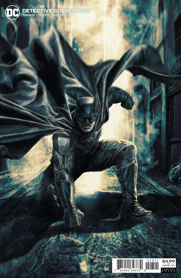 Detective Comics #1028 (Lee Bermejo Card Stock Cover)