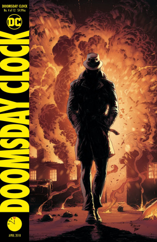 Doomsday Clock #4 (Variant Cover)