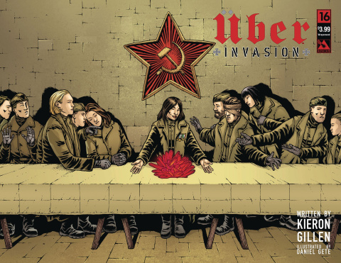 Über: Invasion #16 (Wrap Cover)