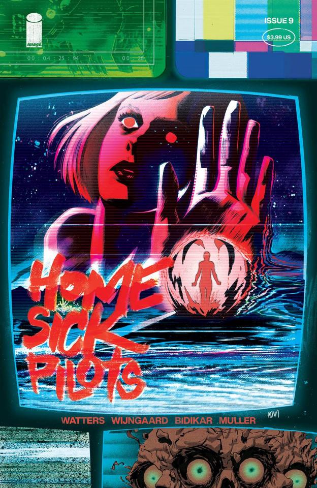 Home Sick Pilots #9 (Gorham Cover)
