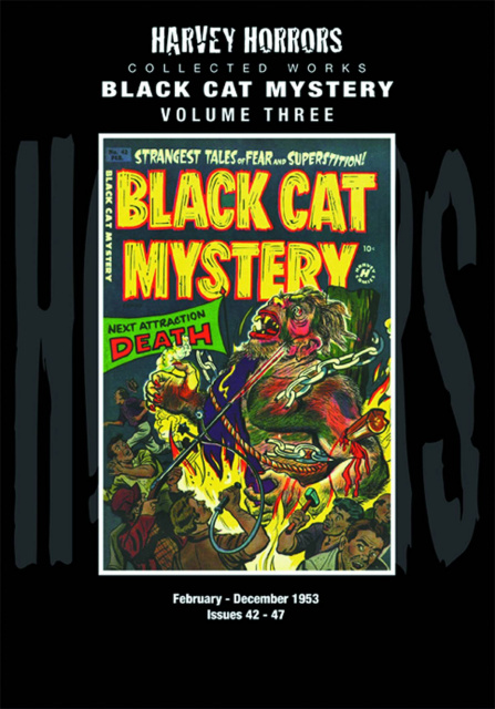 Harvey Horrors Collected Works: Black Cat Mystery Vol. 3