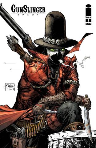 Gunslinger Spawn #1 (250 Copy McFarlane Signed Cover)