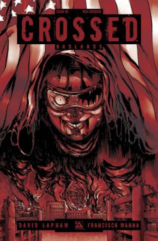 Crossed: Badlands #69 (Red Crossed Cover)