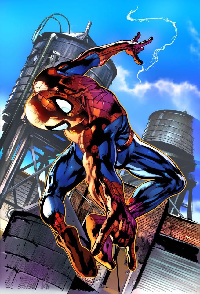 Friendly Neighborhood Spider-Man #2 (Artist Cover)