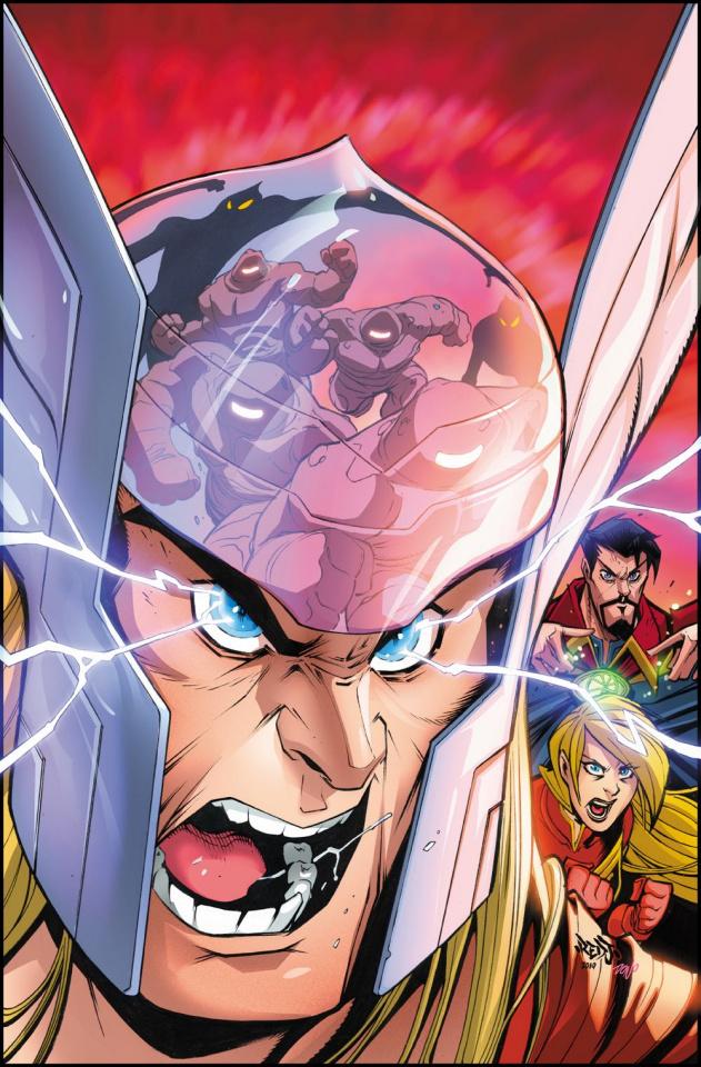 Marvel Action: Avengers #6 (Sommariva Cover)