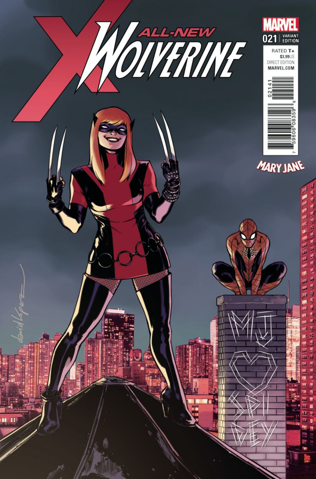 All-New Wolverine #21 (Lopez Mary Jane Cover)