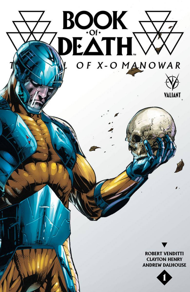 Book of Death: The Fall of X-O Manowar #1 (20 Copy Bern Cover)