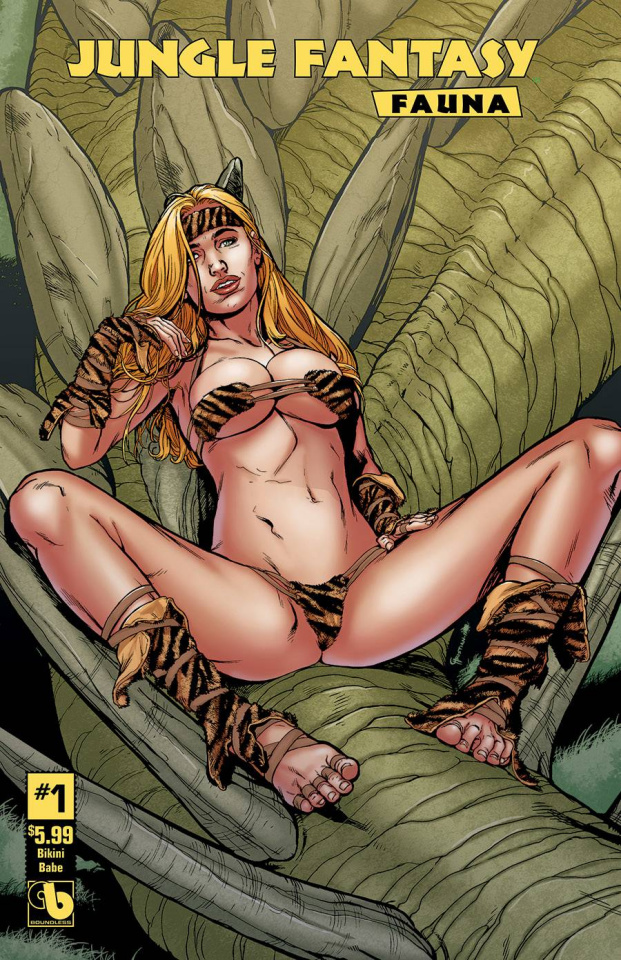 Jungle Fantasy: Fauna #1 (Bikini Babe Cover)