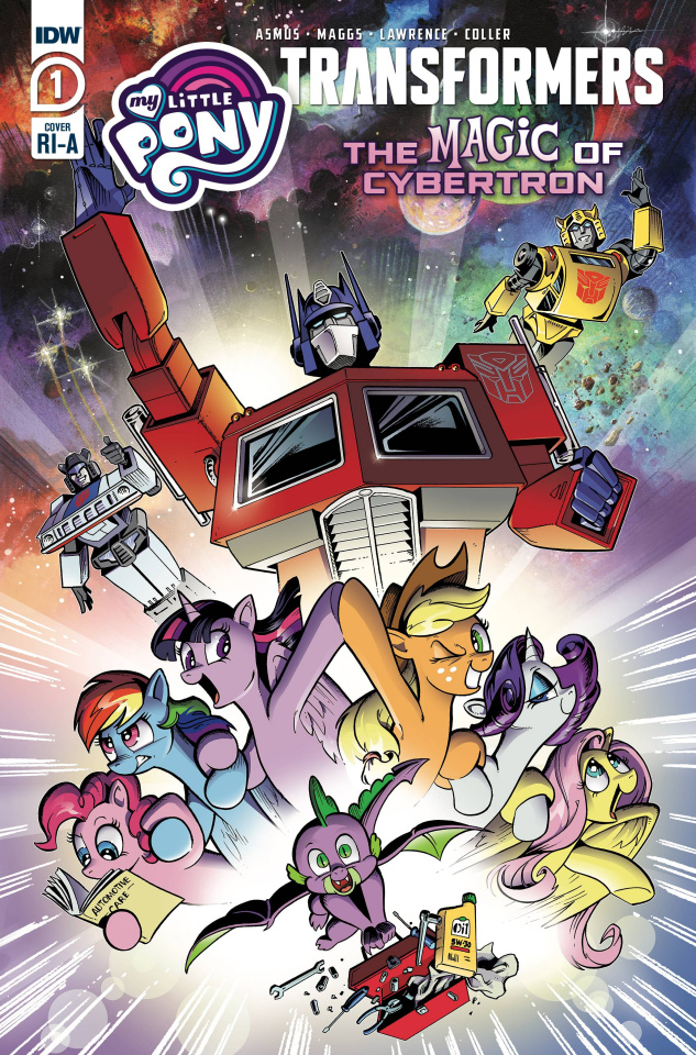 My Little Pony / The Transformers II #1 (10 Copy Price Cover)