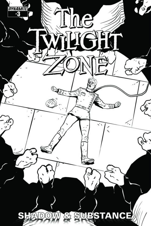 The Twilight Zone: Shadow & Substance #3 (15 Copy Vilanova B&W Cover)