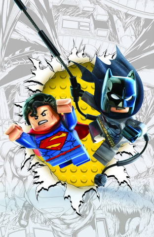 Batman / Superman #16 (Lego Cover)