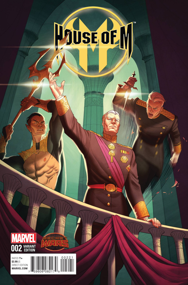 House of M #2 (Hummel Cover)
