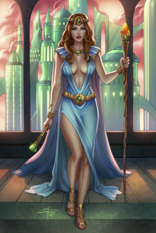 Grimm Fairy Tales: Oz - Reign of the Witch Queen #2 (Rich Cover)