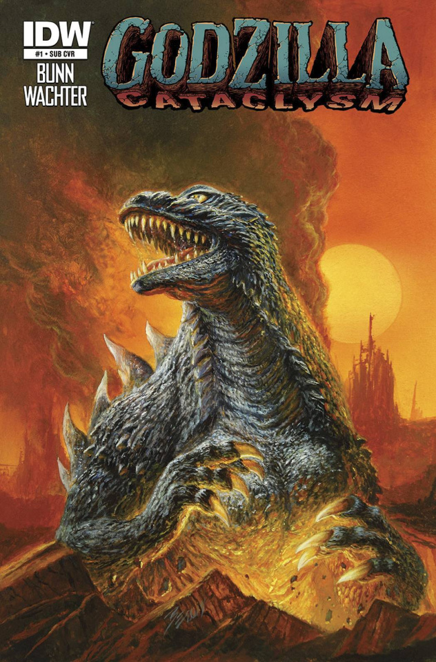 Godzilla: Cataclysm #1 (Subscription Cover)