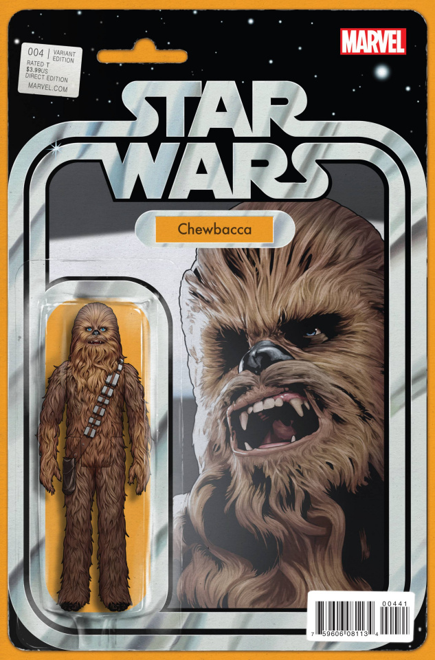 Star Wars #4 (Christopher Action Figure Cover)