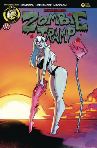 Zombie Tramp #61 (Federhenn Cover)