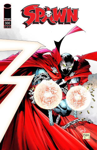Spawn #300 (Capullo & McFarlane Cover)