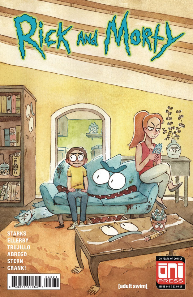 Rick and Morty #40 (Riess Cover)